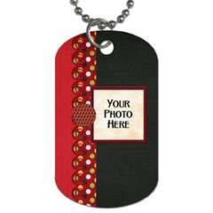 Celebrate America 2 Side Dog Tag 2 By Lisa Minor   Dog Tag (two Sides)   For1ktct75i7   Www Artscow Com Front
