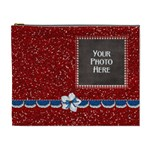 Celebrate America XL Cosmetic Bag 3 - Cosmetic Bag (XL)