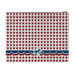 Celebrate America Xl Cosmetic Bag 3 By Lisa Minor   Cosmetic Bag (xl)   77uophxdon84   Www Artscow Com Back