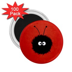 Red Cute Dazzled Bug 2 25  Button Magnet (100 Pack)