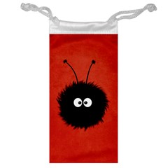 Red Cute Dazzled Bug Jewelry Bag by CreaturesStore