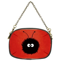 Red Cute Dazzled Bug Chain Purse (two Sided)  by CreaturesStore