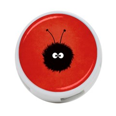 Red Cute Dazzled Bug 4 Port Usb Hub (two Sides) by CreaturesStore