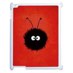 Red Cute Dazzled Bug Apple Ipad 2 Case (white) by CreaturesStore