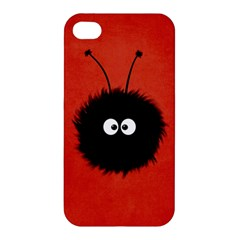 Red Cute Dazzled Bug Apple Iphone 4/4s Hardshell Case by CreaturesStore