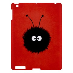 Red Cute Dazzled Bug Apple Ipad 3/4 Hardshell Case by CreaturesStore