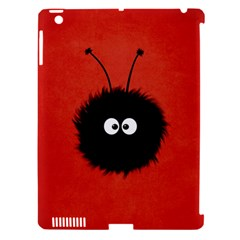 Red Cute Dazzled Bug Apple Ipad 3/4 Hardshell Case (compatible With Smart Cover) by CreaturesStore