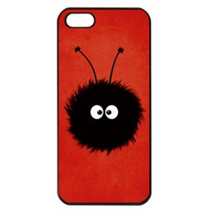 Red Cute Dazzled Bug Apple Iphone 5 Seamless Case (black) by CreaturesStore