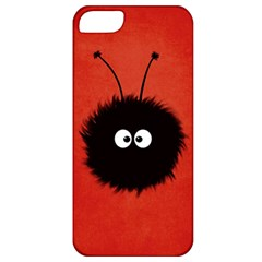 Red Cute Dazzled Bug Apple Iphone 5 Classic Hardshell Case by CreaturesStore