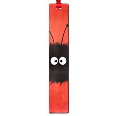 Red Cute Dazzled Bug Large Bookmark by CreaturesStore
