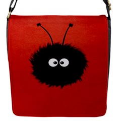 Red Cute Dazzled Bug Removable Flap Cover (small) by CreaturesStore