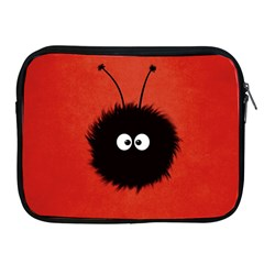 Red Cute Dazzled Bug Apple Ipad Zippered Sleeve by CreaturesStore