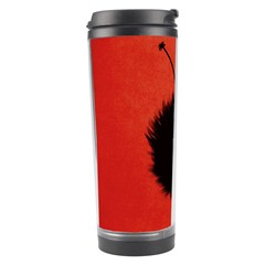Red Cute Dazzled Bug Travel Tumbler by CreaturesStore