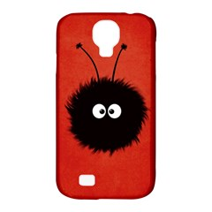 Red Cute Dazzled Bug Samsung Galaxy S4 Classic Hardshell Case (pc+silicone)