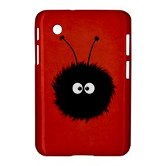 Red Cute Dazzled Bug Samsung Galaxy Tab 2 (7 ) P3100 Hardshell Case  by CreaturesStore