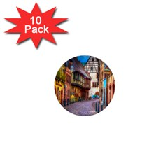 Alsace France 1  Mini Button (10 Pack) by StuffOrSomething