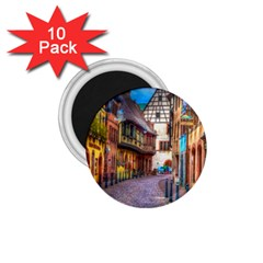 Alsace France 1 75  Button Magnet (10 Pack) by StuffOrSomething