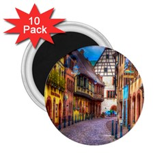 Alsace France 2 25  Button Magnet (10 Pack) by StuffOrSomething