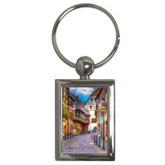 Alsace France Key Chain (rectangle) by StuffOrSomething