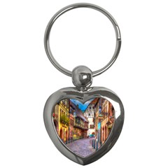 Alsace France Key Chain (heart)