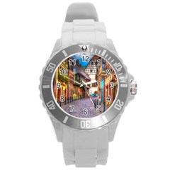 Alsace France Plastic Sport Watch (large) by StuffOrSomething