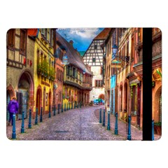 Alsace France Samsung Galaxy Tab Pro 12 2  Flip Case by StuffOrSomething