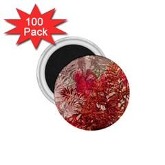 Decorative Flowers Collage 1 75  Button Magnet (100 Pack) by dflcprints