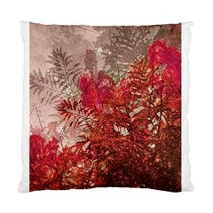 Decorative Flowers Collage Cushion Case (two Sided)  by dflcprints