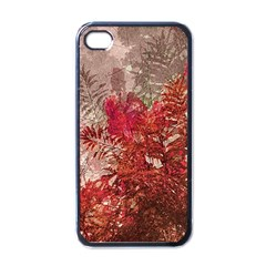 Decorative Flowers Collage Apple Iphone 4 Case (black) by dflcprints