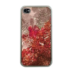 Decorative Flowers Collage Apple Iphone 4 Case (clear) by dflcprints