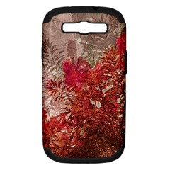 Decorative Flowers Collage Samsung Galaxy S Iii Hardshell Case (pc+silicone)