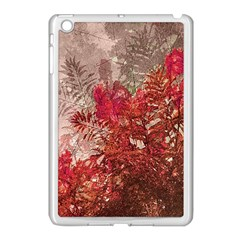 Decorative Flowers Collage Apple Ipad Mini Case (white) by dflcprints
