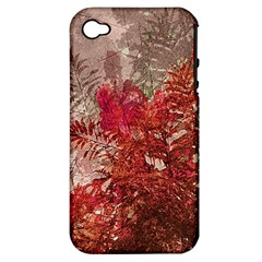 Decorative Flowers Collage Apple Iphone 4/4s Hardshell Case (pc+silicone) by dflcprints