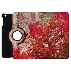 Decorative Flowers Collage Apple Ipad Mini Flip 360 Case by dflcprints