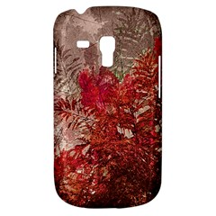 Decorative Flowers Collage Samsung Galaxy S3 Mini I8190 Hardshell Case