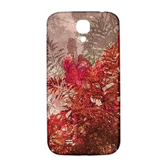 Decorative Flowers Collage Samsung Galaxy S4 I9500/i9505  Hardshell Back Case by dflcprints