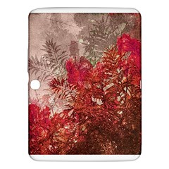 Decorative Flowers Collage Samsung Galaxy Tab 3 (10 1 ) P5200 Hardshell Case