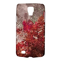 Decorative Flowers Collage Samsung Galaxy S4 Active (i9295) Hardshell Case