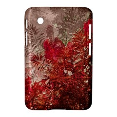 Decorative Flowers Collage Samsung Galaxy Tab 2 (7 ) P3100 Hardshell Case