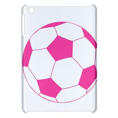Soccer Ball Pink Apple Ipad Mini Hardshell Case by Designsbyalex