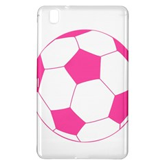 Soccer Ball Pink Samsung Galaxy Tab Pro 8 4 Hardshell Case by Designsbyalex