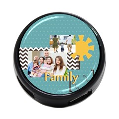 Family By Family   4 Port Usb Hub (two Sides)   Qif7j0pd9r2z   Www Artscow Com Front