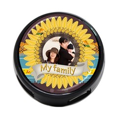 Family By Family   4 Port Usb Hub (two Sides)   7560clmfujmi   Www Artscow Com Front