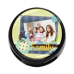 Family By Family   4 Port Usb Hub (two Sides)   Czvlad90gwov   Www Artscow Com Front