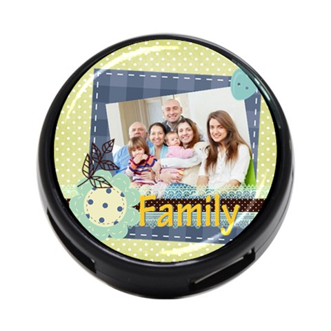 Family By Family   4 Port Usb Hub (one Side)   Meikcqdiumw4   Www Artscow Com Front