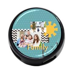 Family By Family   4 Port Usb Hub (two Sides)   Xmq4jph1g5ev   Www Artscow Com Back