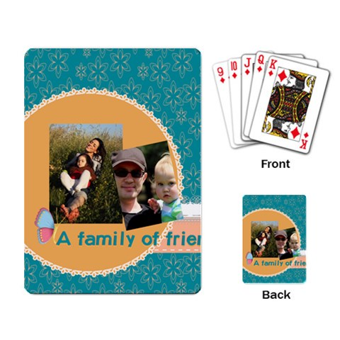 Family By Family   Playing Cards Single Design   8nzfz9mu3mhz   Www Artscow Com Back