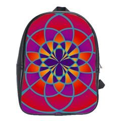 Mandala School Bag (xl)
