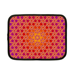 Radial Flower Netbook Sleeve (small) by SaraThePixelPixie