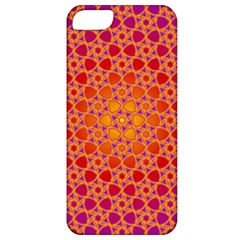 Radial Flower Apple Iphone 5 Classic Hardshell Case by SaraThePixelPixie